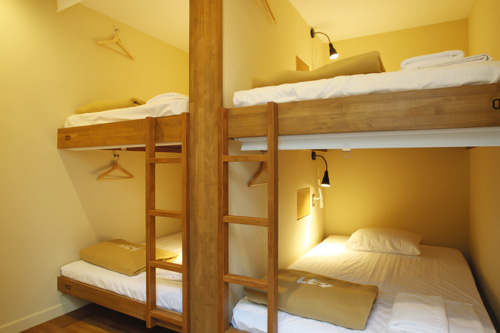 Semi-double BED Female Dormitory